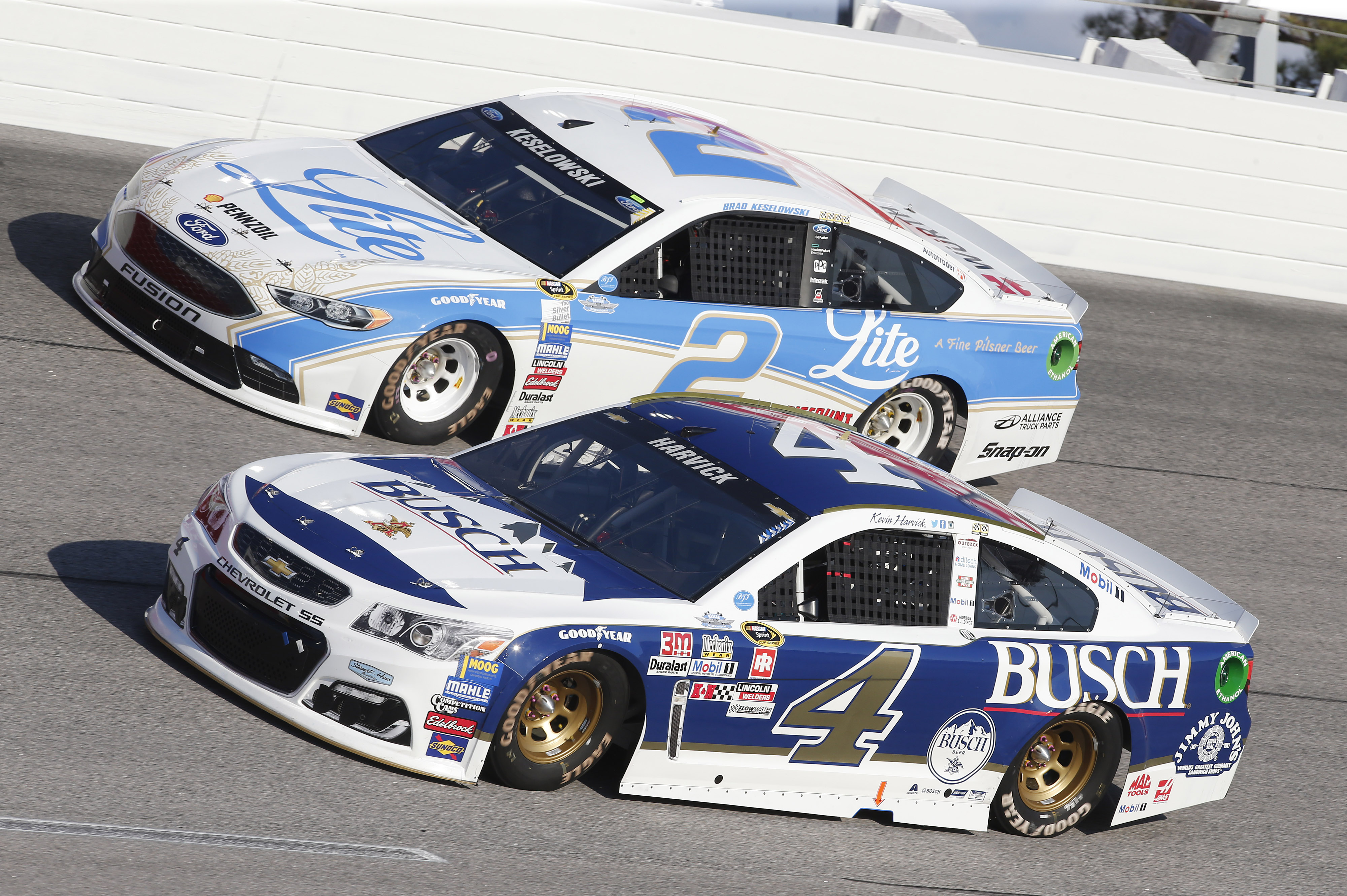 Iconic beer sponsored cars in nascar through the years fox sports mozeypictures Gallery
