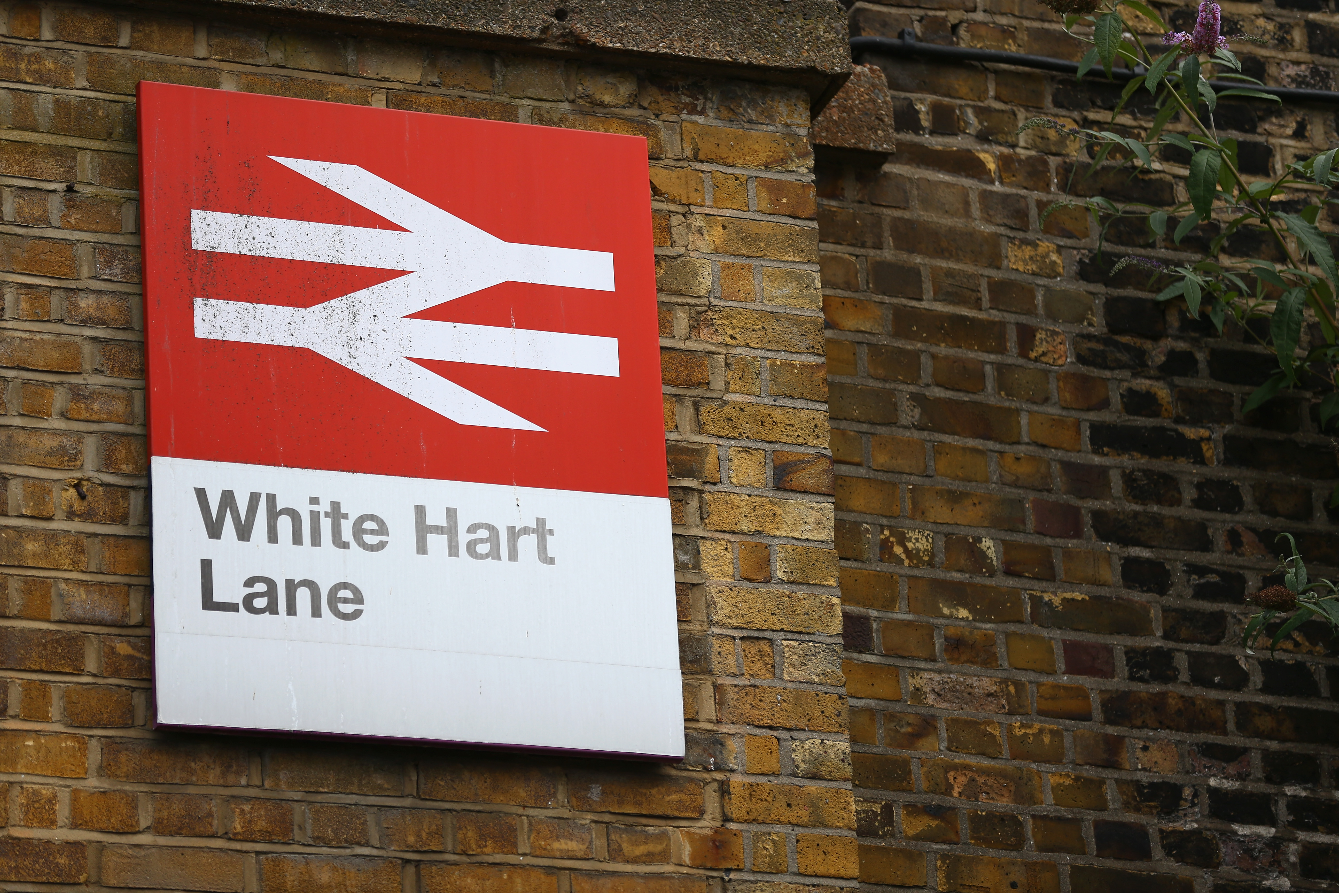 LONDON, ENGLAND - AUGUST 15:  White Hart Lane station is seen prior to the Barclays Premier League match between Tottenham Hotspur and Stoke City at White Hart Lane on August 15, 2015 in London, United Kingdom.  (Photo by Dan Mullan/Getty Images)