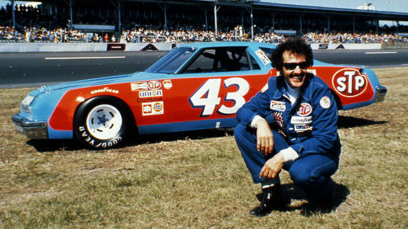 DAYTONA BEACH, FL - 1979:  Richard Petty rallied late in the season to gain the advantage and win an unprecedented seventh national title in NASCAR's Cup Series.  (Photo by ISC Archives via Getty Images)