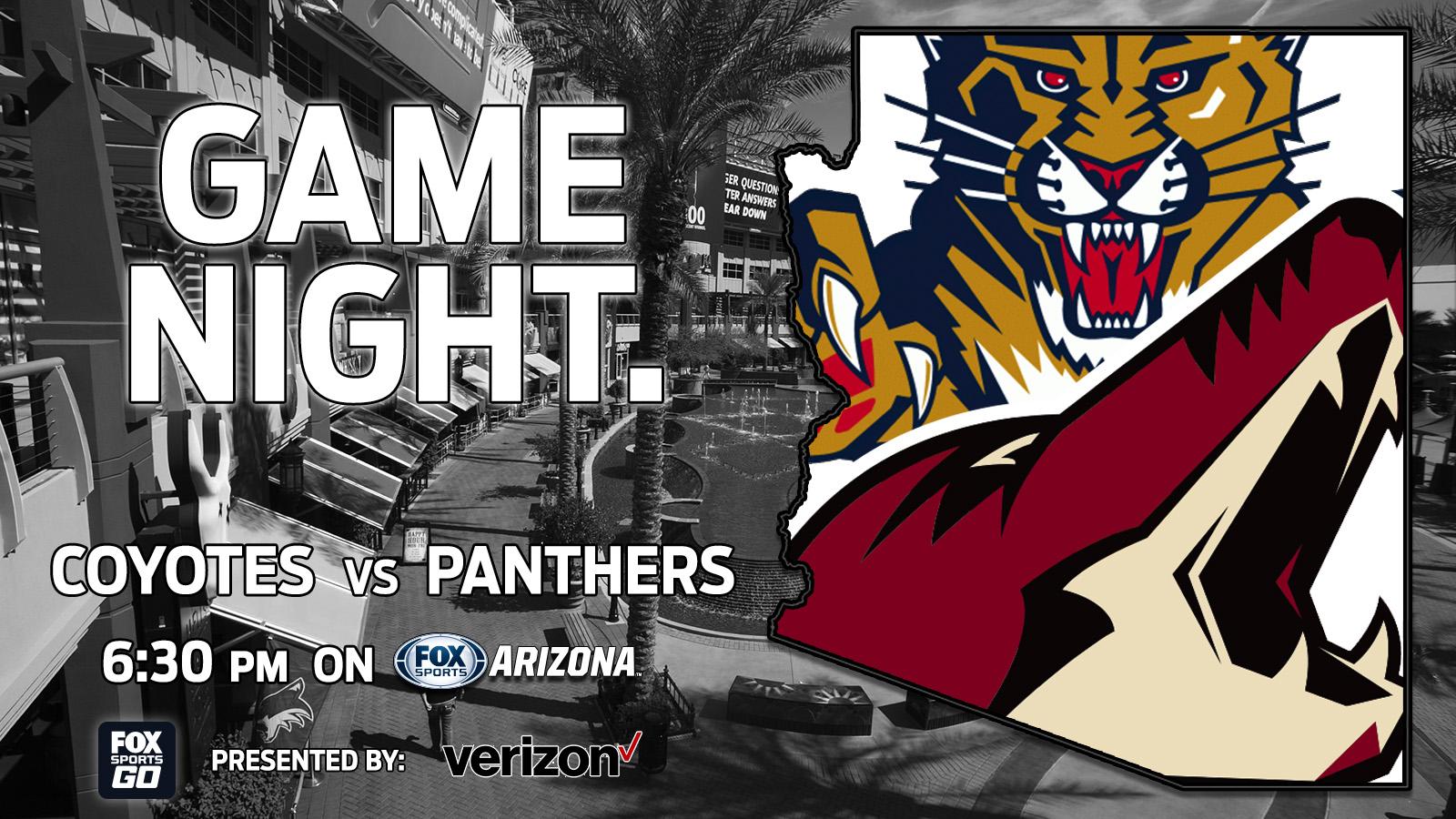 170123-Coyotes vs Panthers - Verizon - Tonight