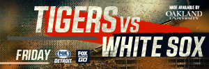 thumbnail_Matchup web banner 2017 Tigers vs  White Sox 0428 FRIDAY