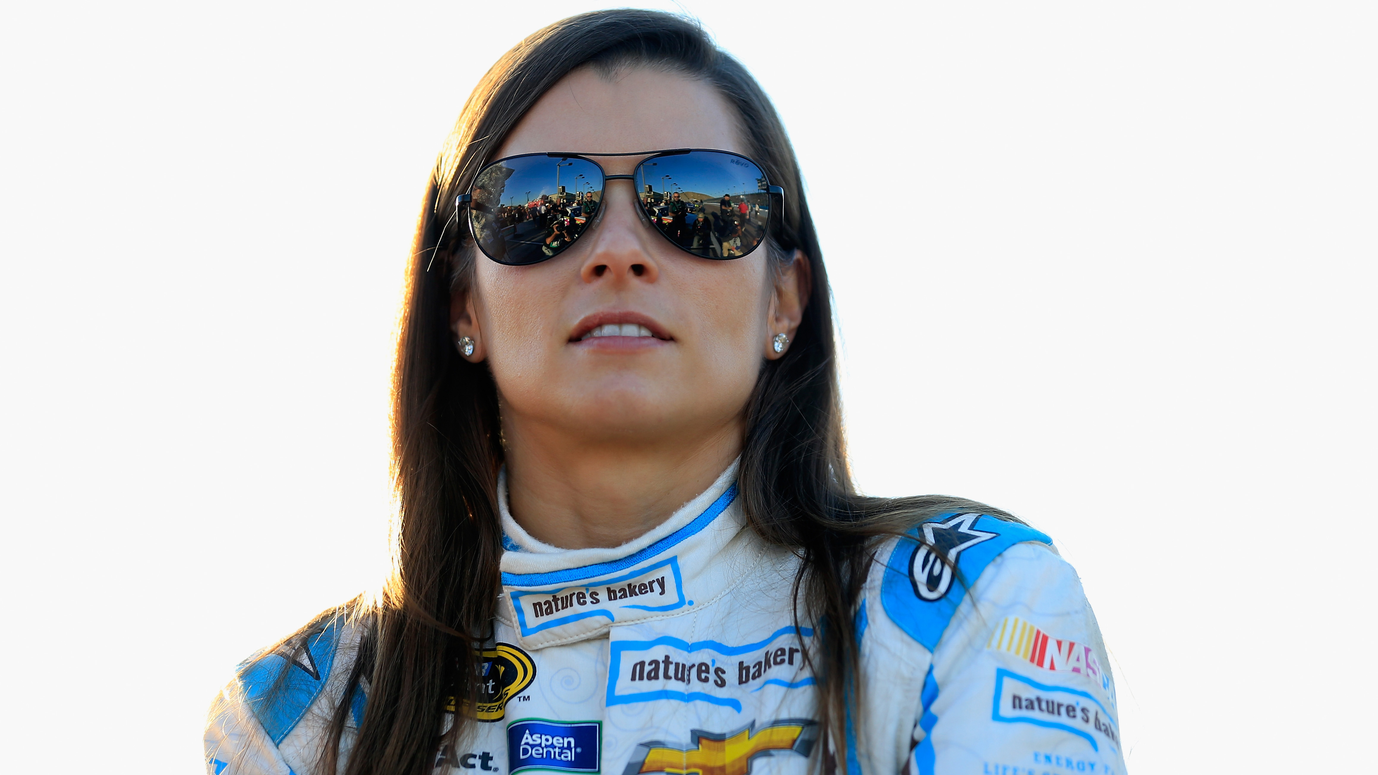 AVONDALE, AZ - NOVEMBER 11:  Danica Patrick, driver of the #10 Nature's Bakery Chevrolet, stands on the grid during qualifying for the NASCAR Sprint Cup Series Can-Am 500 at Phoenix International Raceway on November 11, 2016 in Avondale, Arizona.  (Photo by Chris Trotman/NASCAR via Getty Images)