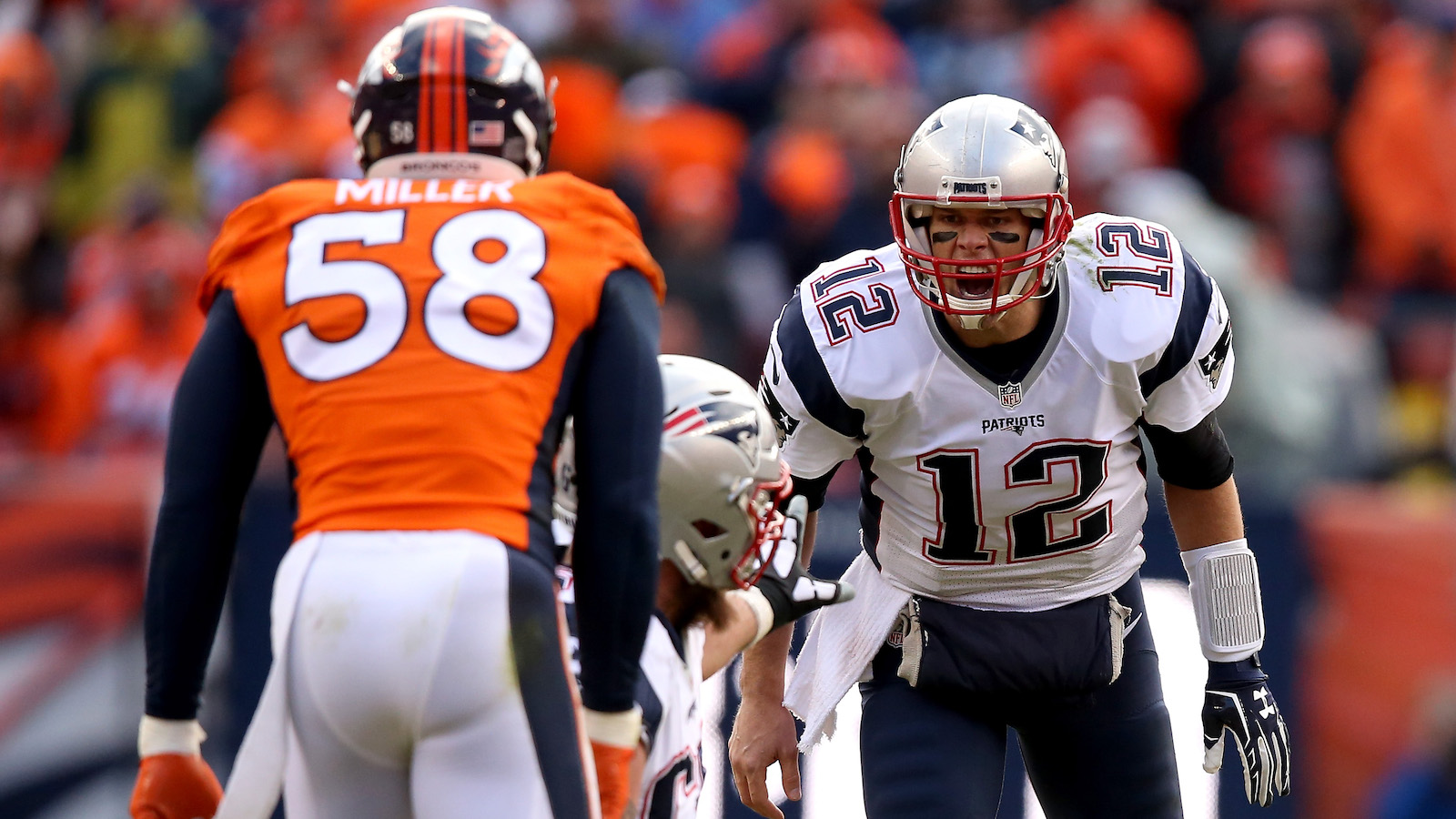 New England Patriots Vs. Denver Broncos 2016