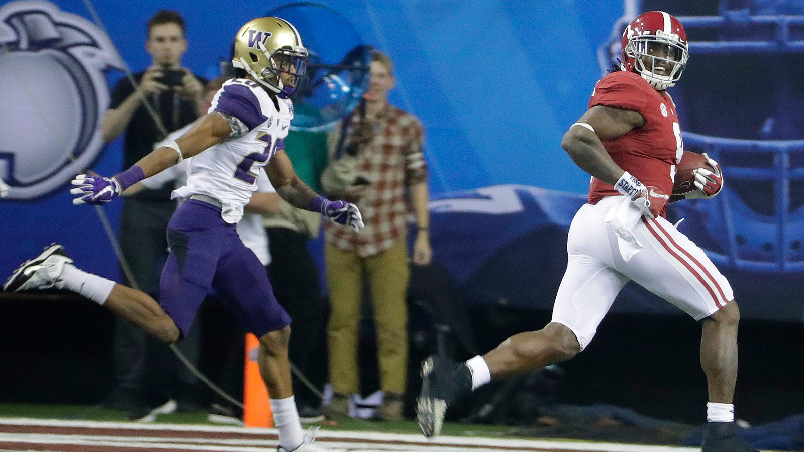 Washington vs. Alabama in Peach Bowl