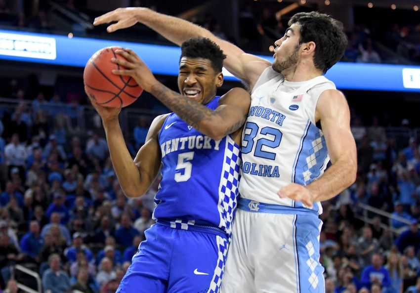 'North Carolina vs. Kentucky - 12/17/16 College Basketball Pick, Odds, and Prediction'