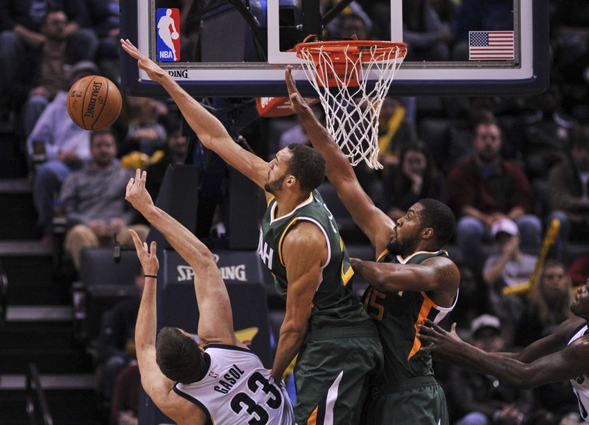 Image result for rudy gobert marc gasol