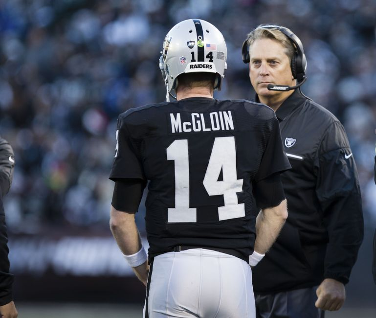 Del Rio: Raiders Defense Can't Put Oakland's QBs Behind Eight-ball