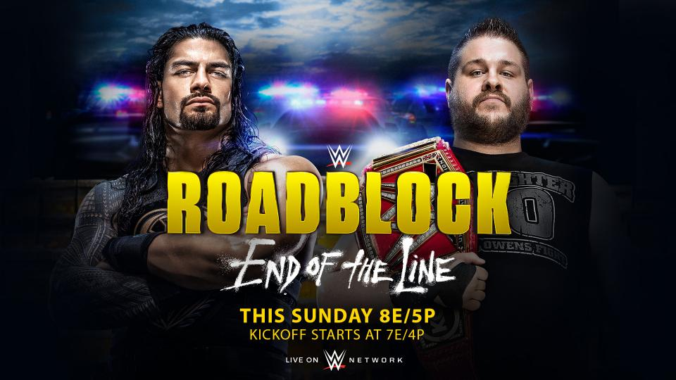'WWE Roadblock 2016: End Of The Line' Preview And Results