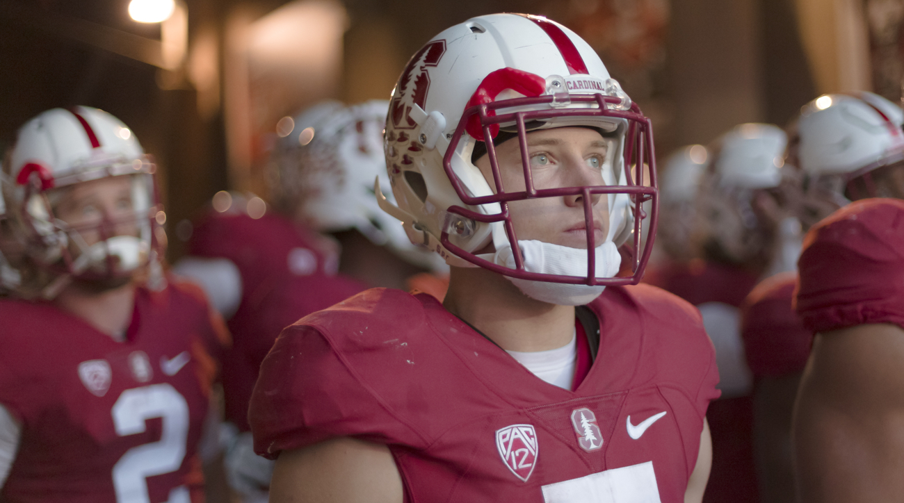 Stanford RB McCaffrey to skip bowl, focus on draft