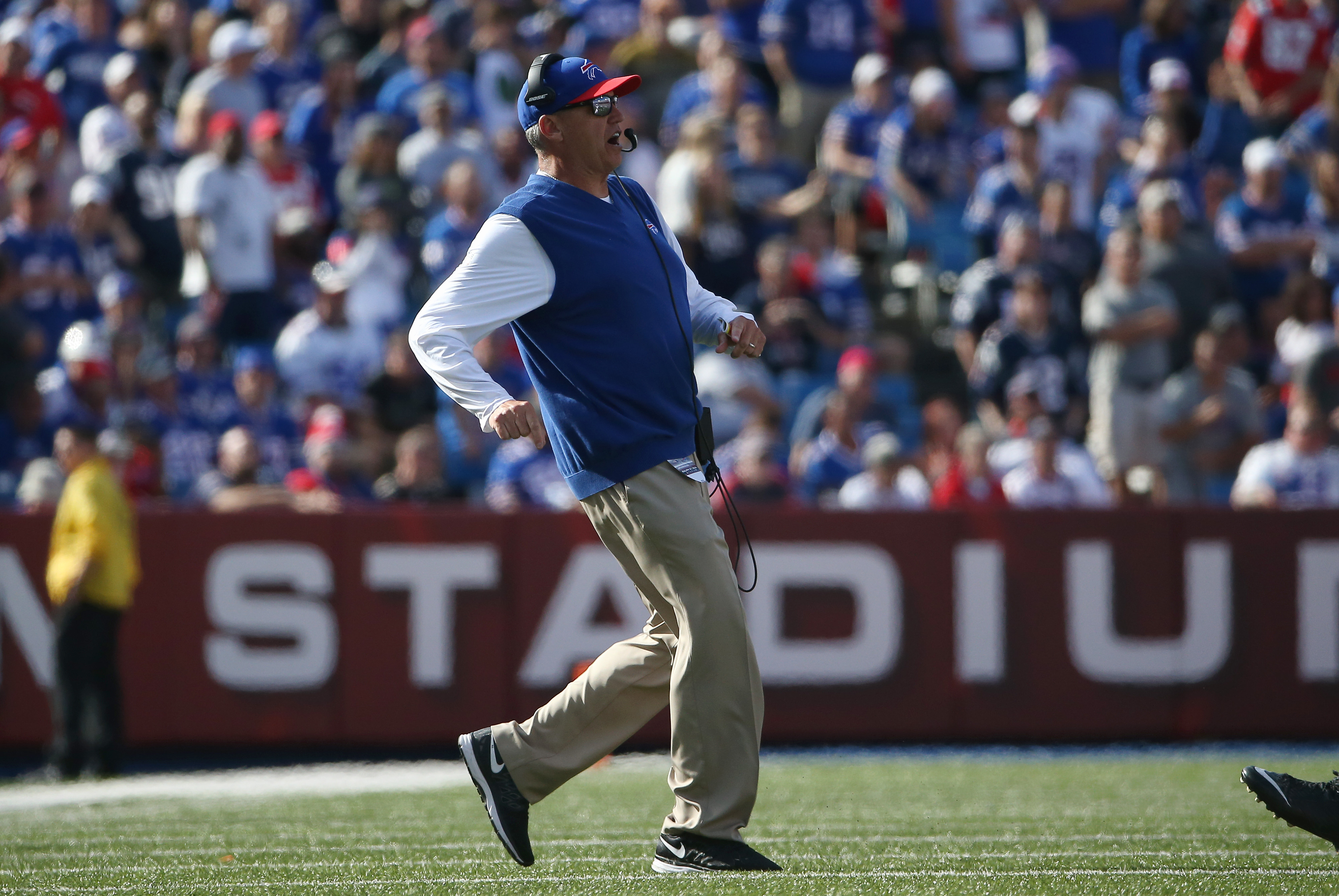 Fired Buffalo Bills coach Rex Ryan was all bluster and no bite