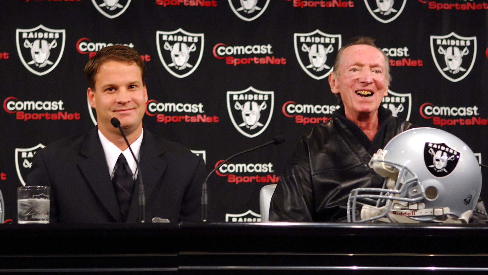 Lane Kiffin and Al Davis