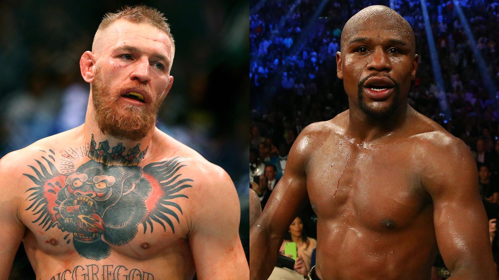 012017 UFC Conor McGregor Floyd Mayweather