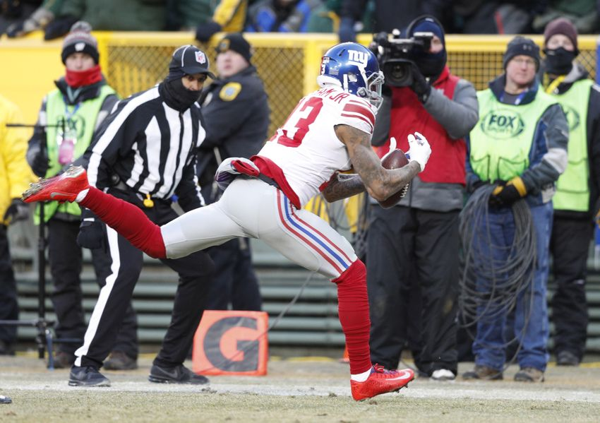 Victor Cruz: Odell Beckham needs to control his Giant outbursts