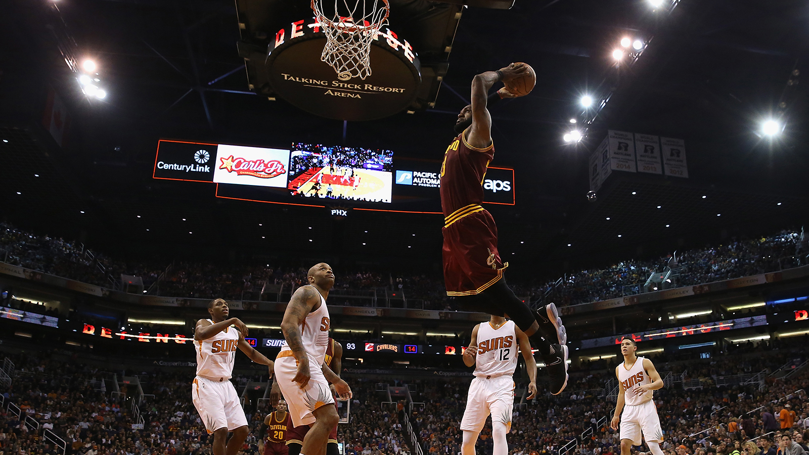 How LeBron James Helped Ruin The NBA Slam Dunk Contest
