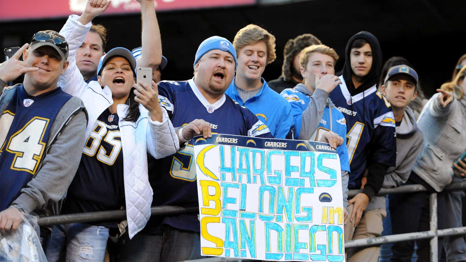 The Chargers leave San Diego for LA Um, welcome back?