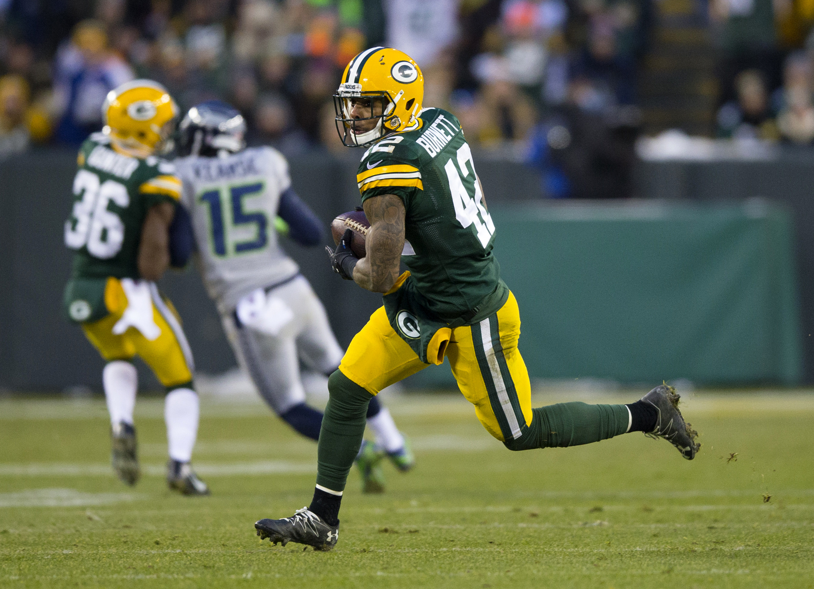 Packers safety Morgan Burnett ruled out for Sunday s game