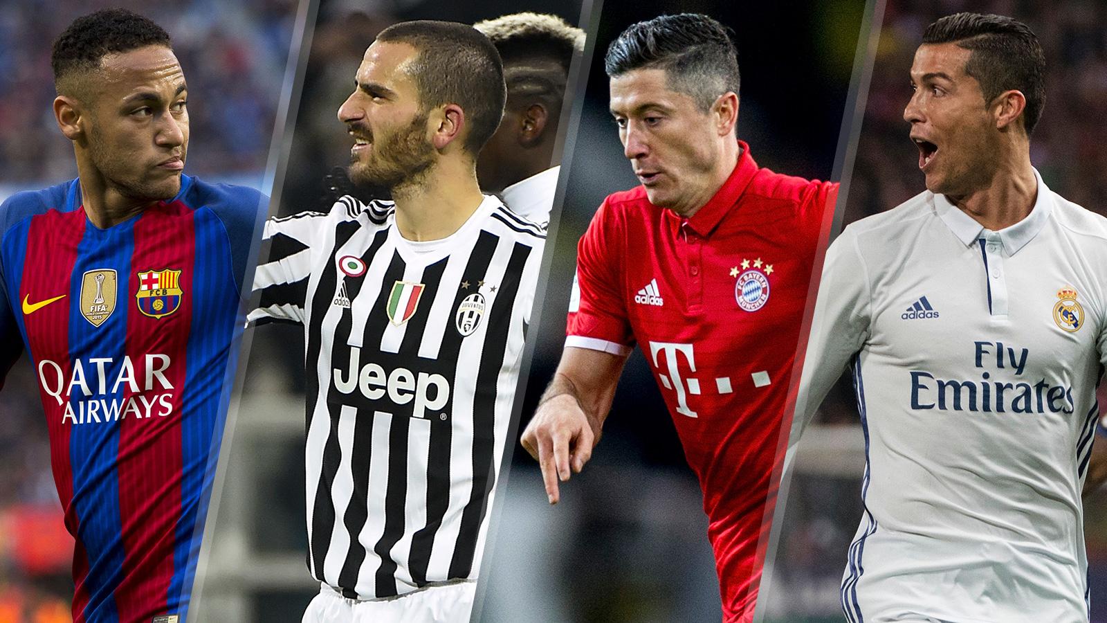 021117-UCL-Neymar-Bonucci-Lewy-Ronaldo-split