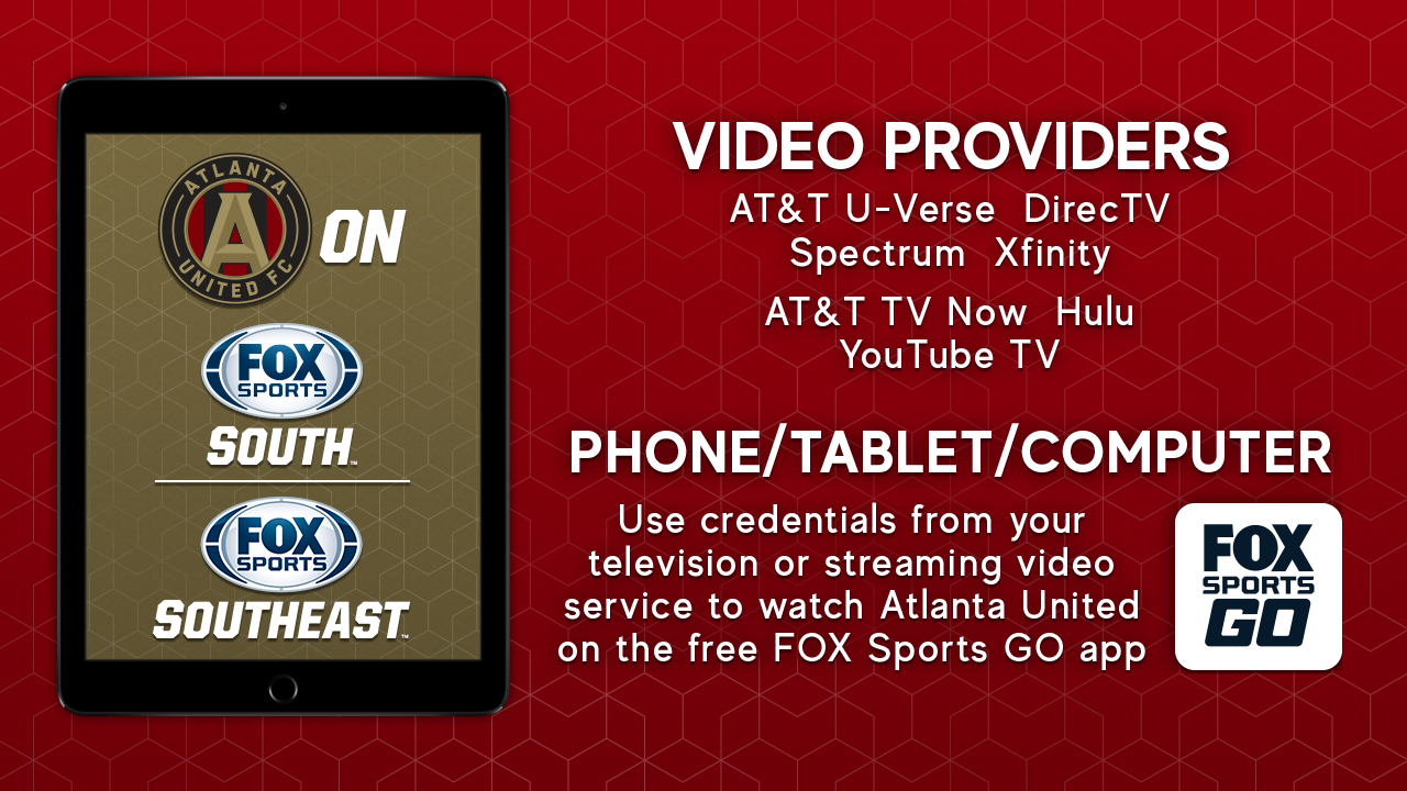 Atlanta United Channel Listings Fox Sports