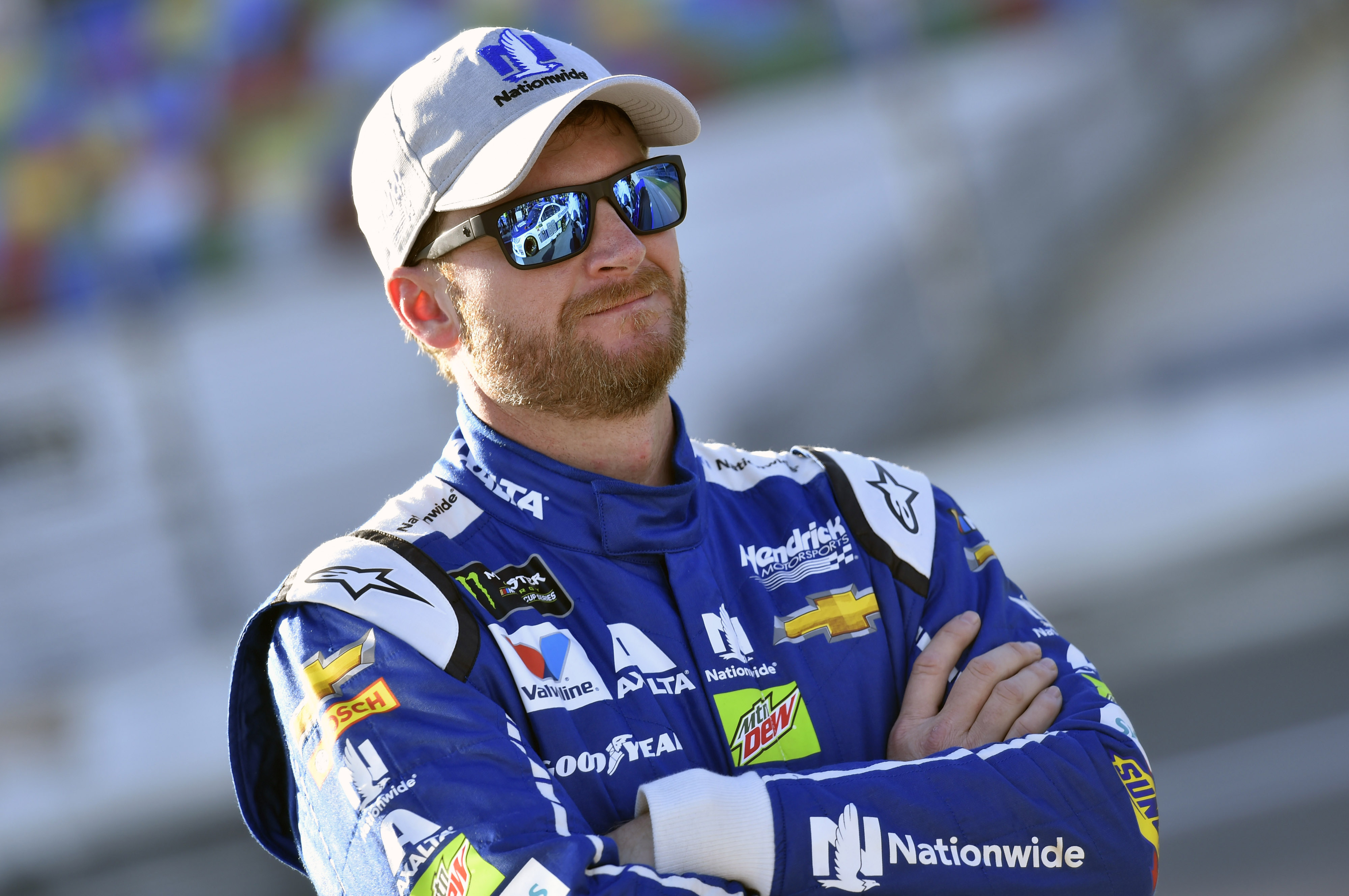 2017 NASCAR Cup - Daytona 500 Daytona International Speedway, Daytona Beach, FL USA Sunday 19 February 2017 Dale Earnhardt Jr World Copyright: Nigel Kinrade/LAT Images  ref: Digital Image 17DAY1nk05288