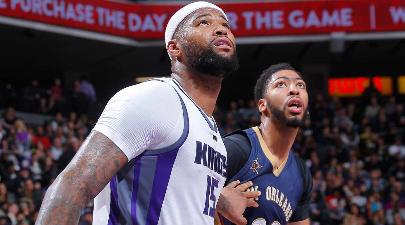 DEMARCUS COUSINS IS A PELICAN now look at him get buckets