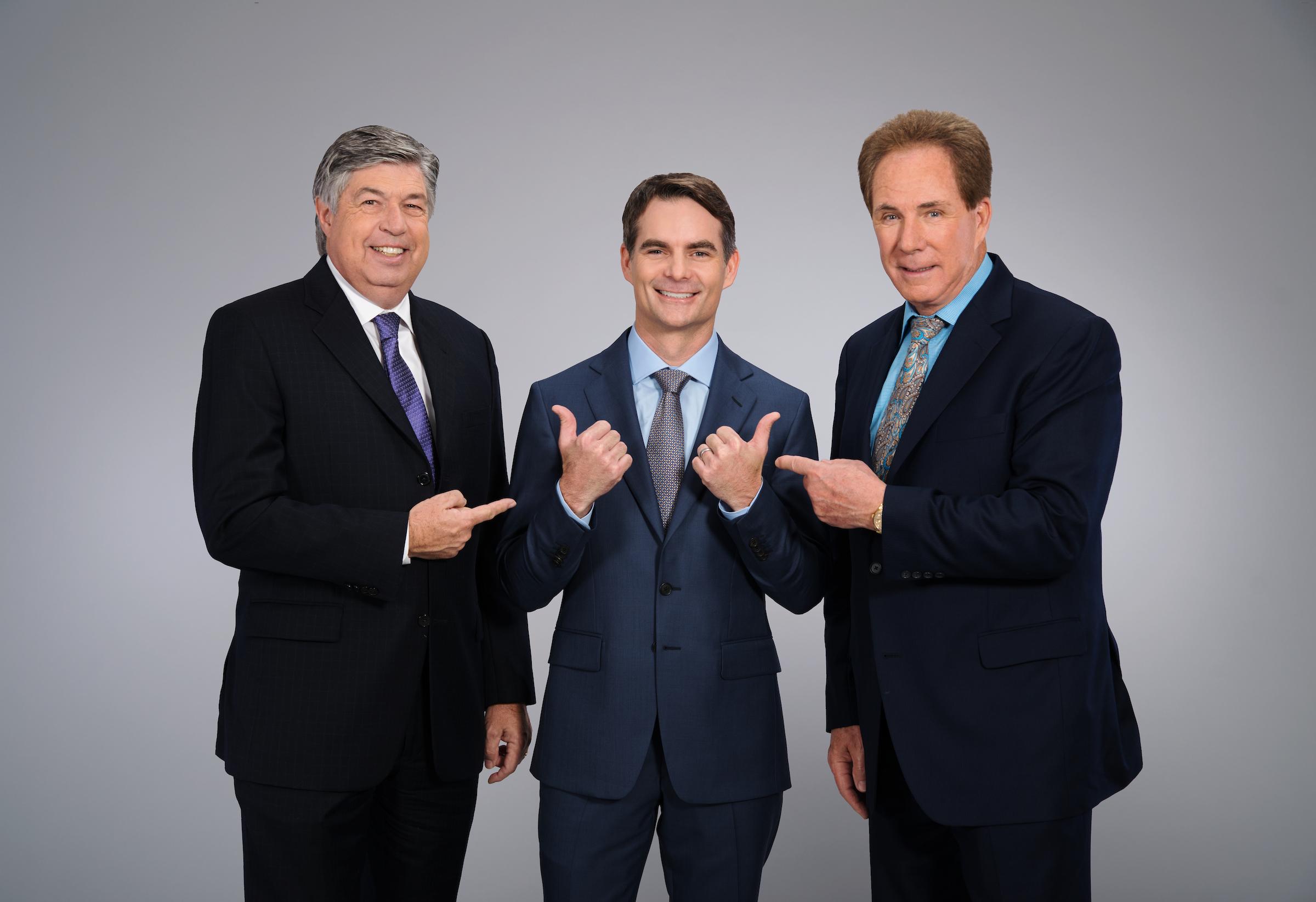 Mike-Joy-Jeff-Gordon-Darrell-Waltrip
