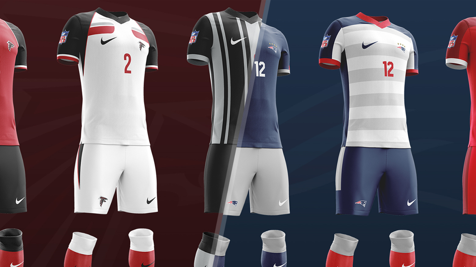 What would every NFL team look like with a soccer kit   8e80a9e08