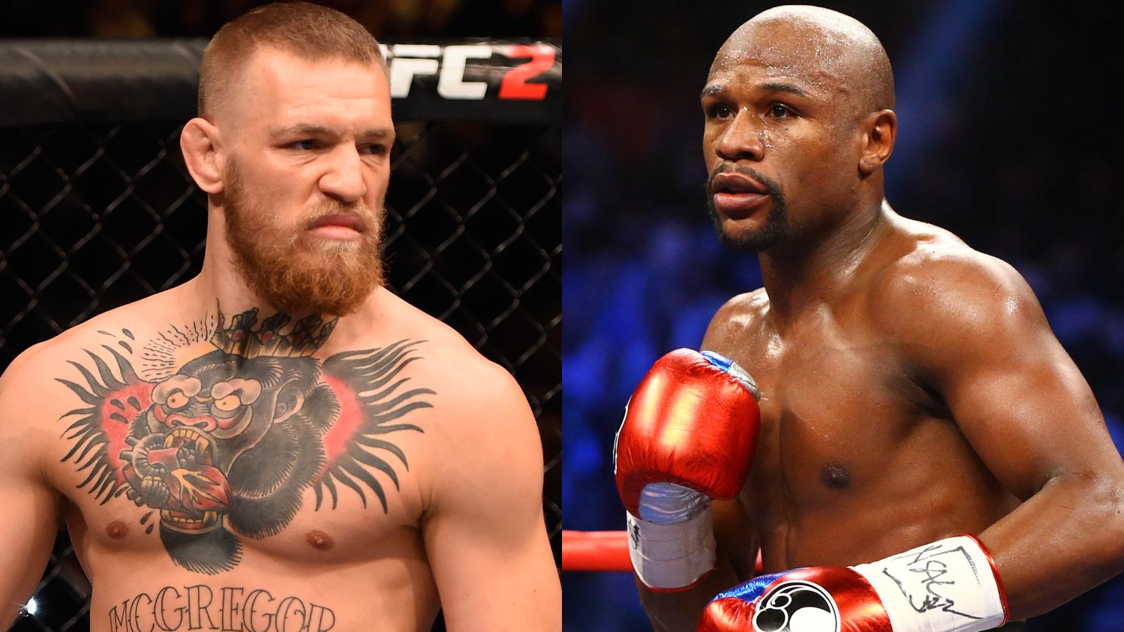 031517 UFC Conor McGregor Floyd Mayweather
