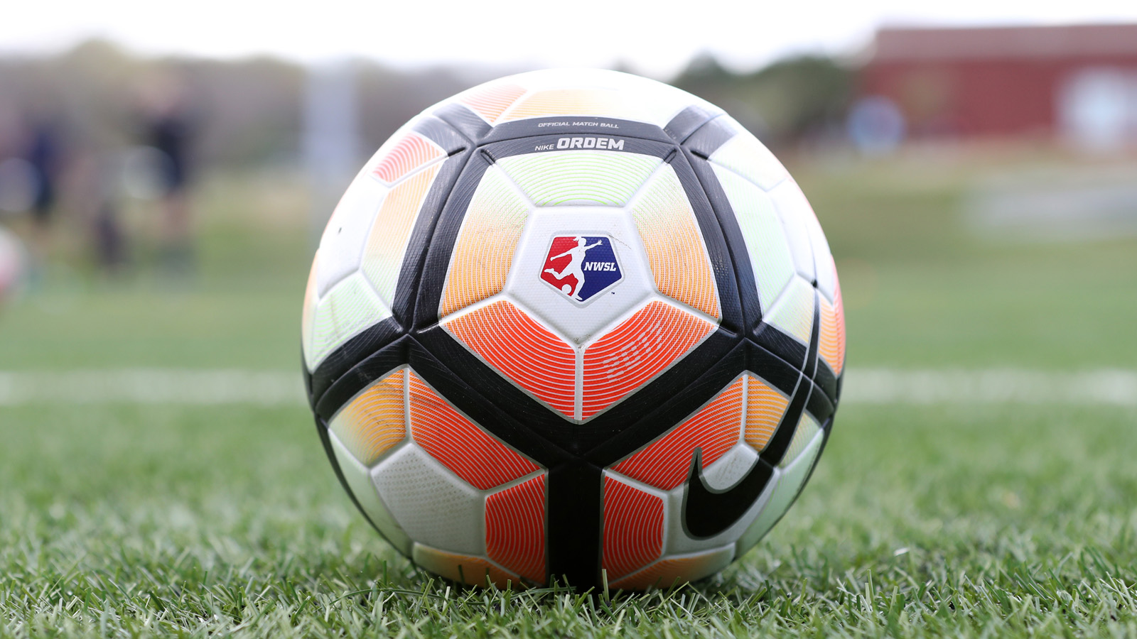 CHARLOTTE, NC - MARCH 25: 2017 NWSL match ball. The NWSL's North Carolina Courage played their first preseason game against the University of Tennessee Volunteers on March 25, 2017, at Queens University of Charlotte Sports Complex in Charlotte, NC. The Courage won the match 3-0. (Photo by Andy Mead/YCJ/Icon Sportswire via Getty Images)