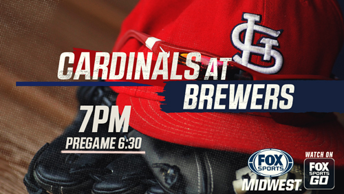 Wainwright leads Cardinals past Brewers