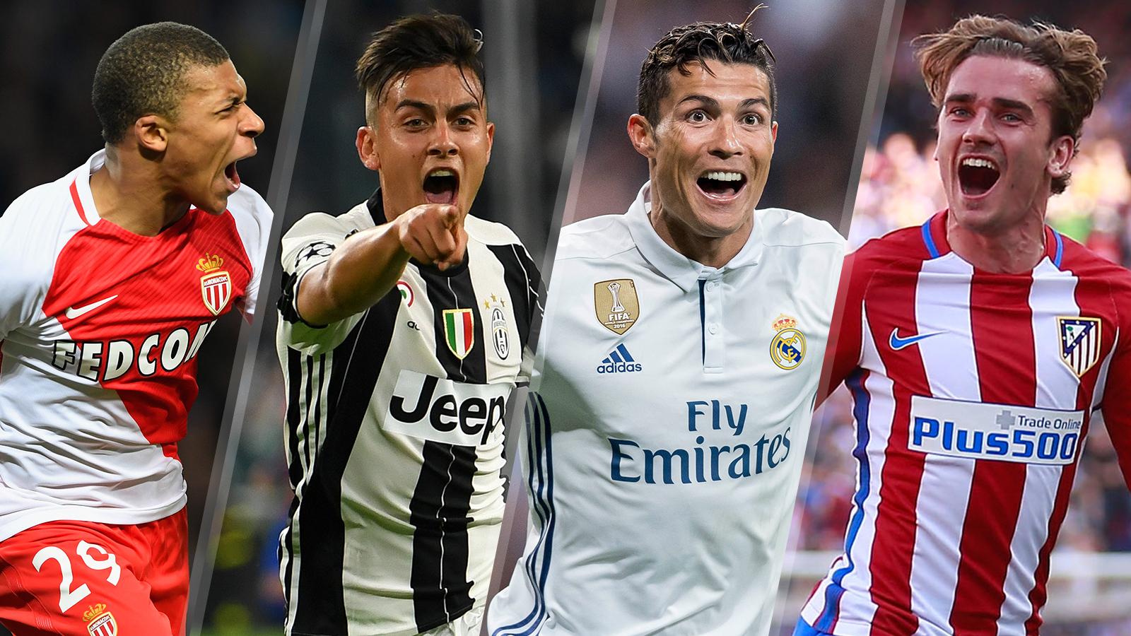 mbappe_dybala_ronaldo_griezmann_champions_league