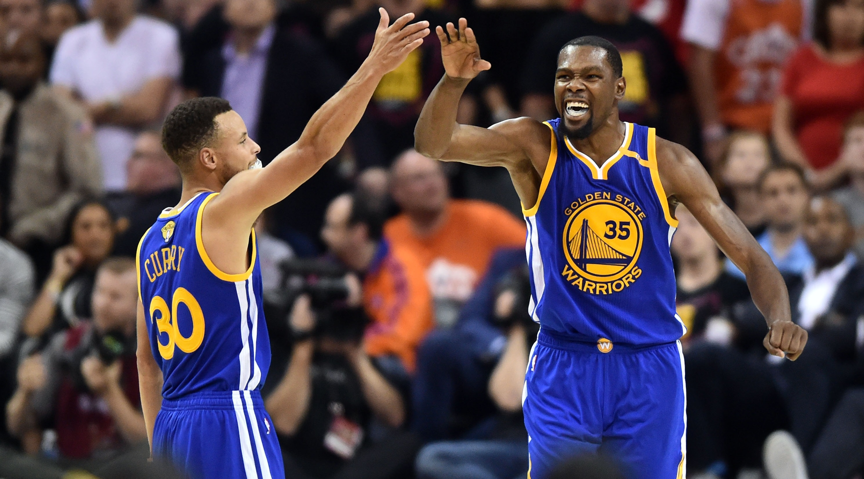 Stephen Curry and Kevin Durant are destroying narratives in the 2017 NBA Finals
