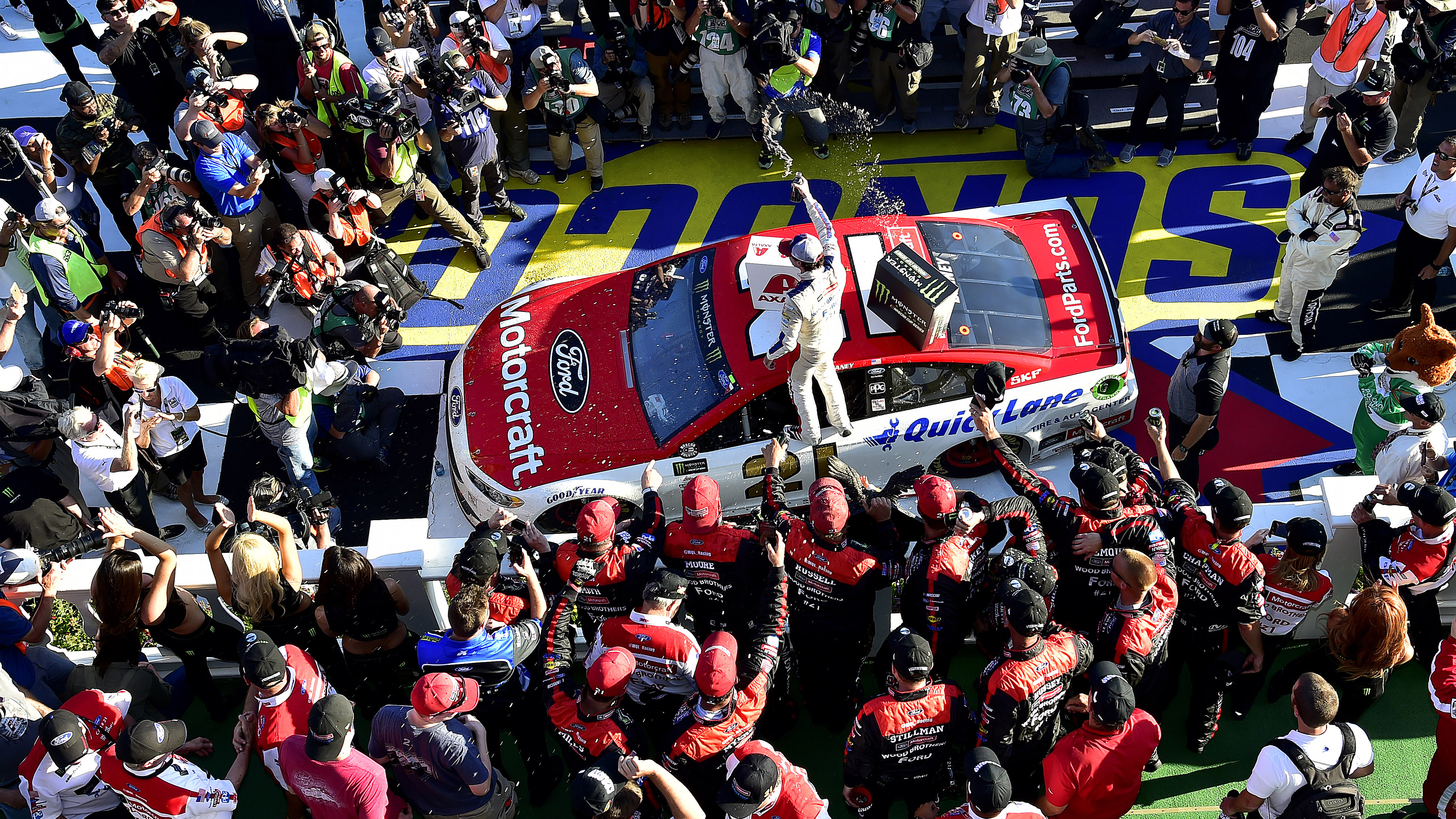 10 quick facts about Ryan Blaney\'s first Cup Series win   FOX Sports
