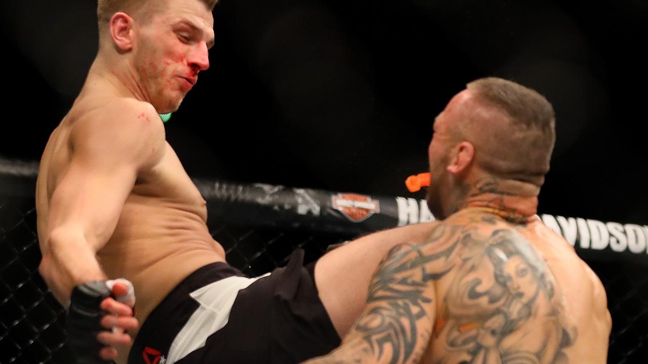 MMA: UFC Fight Night-Auckland Hooker vs Pearson