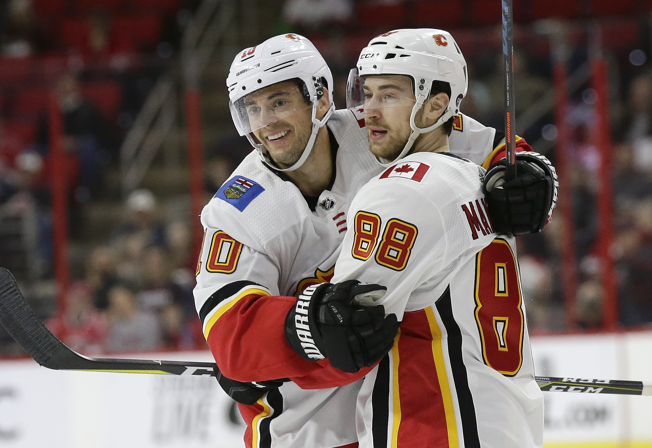 Ryan Lindhom Hanifin Lift Flames In Return To Raleigh Fox Sports