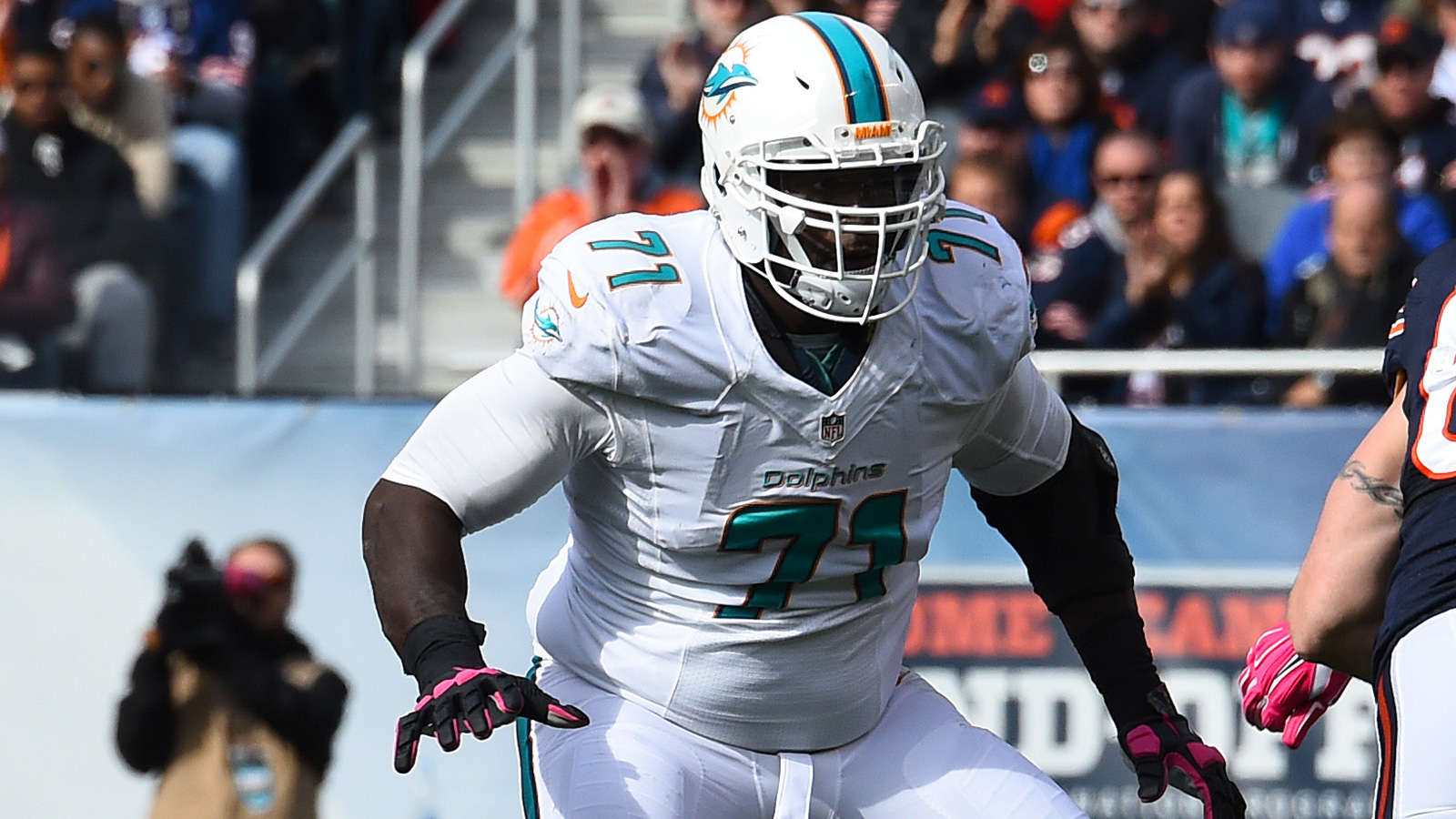 Left tackle Branden Albert among four released by Dolphins