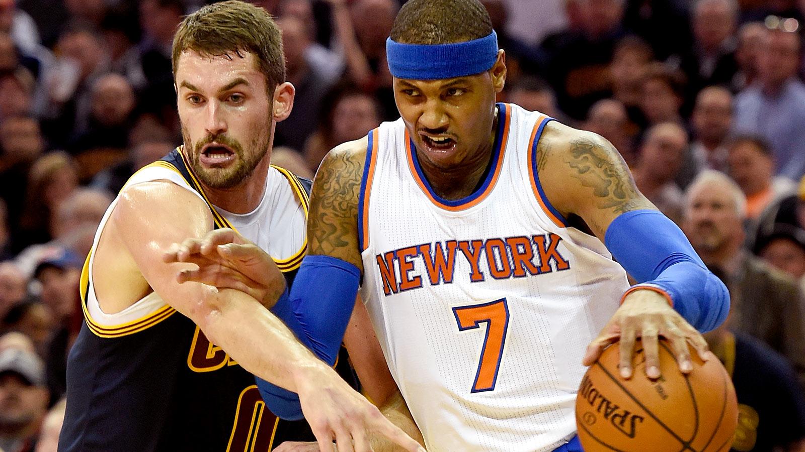 103014-NBA-NY-Knicks-Carmelo-Anthony-Cleveland-Cavaliers-Kevin-Love-PI
