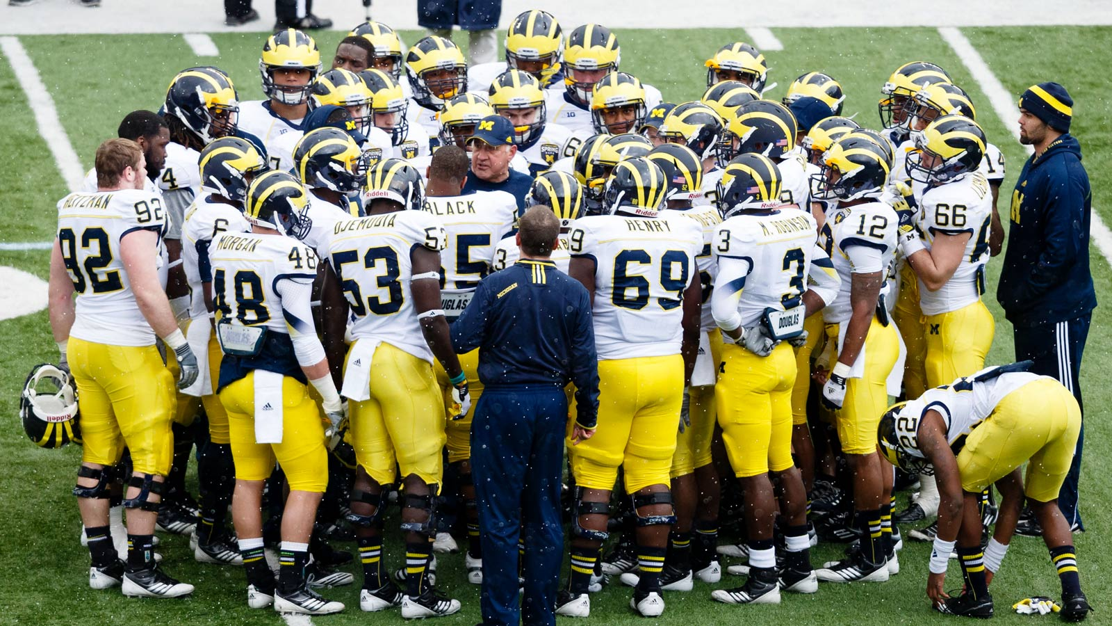 The official website for the University of Michigan Wolverines athletics