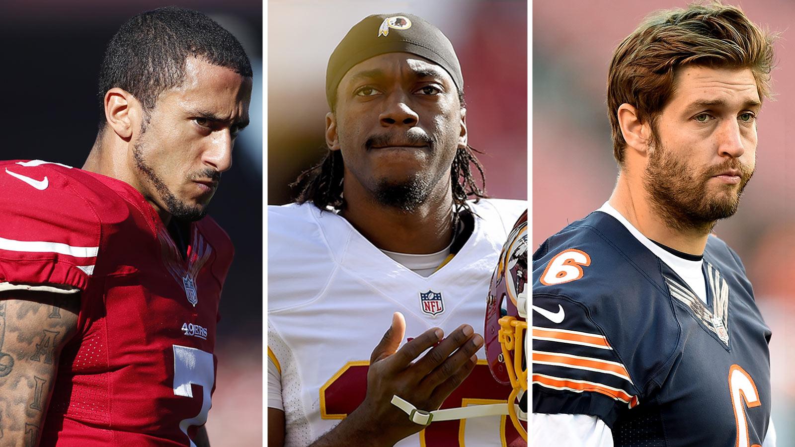 121714-NFL-SF-Colin-Kaepernick-Redskins-Robert-Griffin-Bears-Jay-Cutler-JL-PI