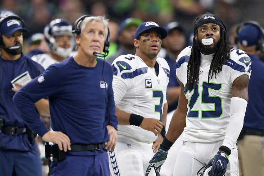 9642921-richard-sherman-pete-carroll-russell-wilson-nfl-seattle-seahawks-new-orleans-saints